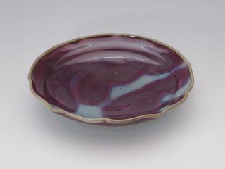 日野均窯菓子鉢(P04121e)